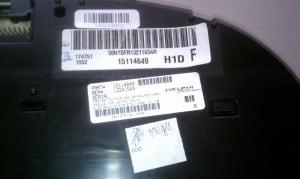 Serial number image