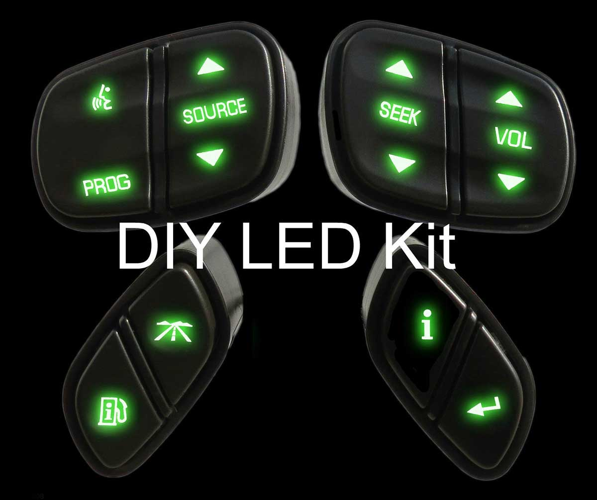 Diy Led Steering Wheel Green on 2003 Gmc Envoy