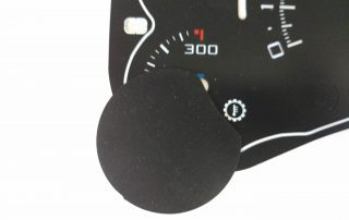 Escalade Gauge Face Black with Cover