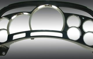 Chrome Escalade Lens Custom Chrome Ring Lens Cover