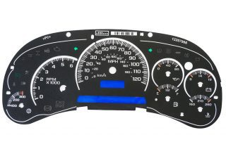 Dorman 10-0105B Upgrade Kit 2003 to 2005 Silverado, Tahoe, Sierra, Suburban, Avalanche, Yukon and Denali instrument panel.