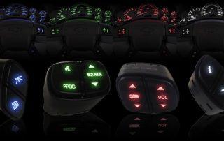 LEDs Buttons