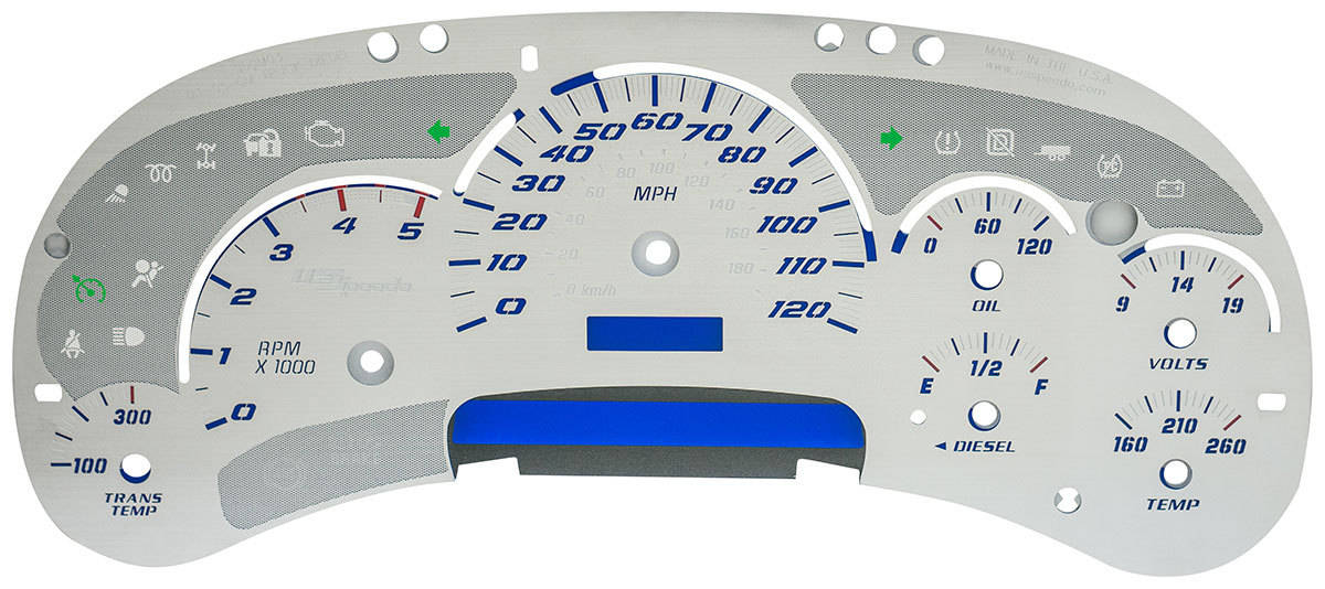 Custom Gauges, Custom Gauge Cluster, Custom Gauge Clusters