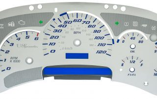 SSGM025 7 gauge gas stainless gauge face